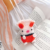 Cute Handwork Wireless Charger knitted cover bag for airpods bag pink cute for airpods bag