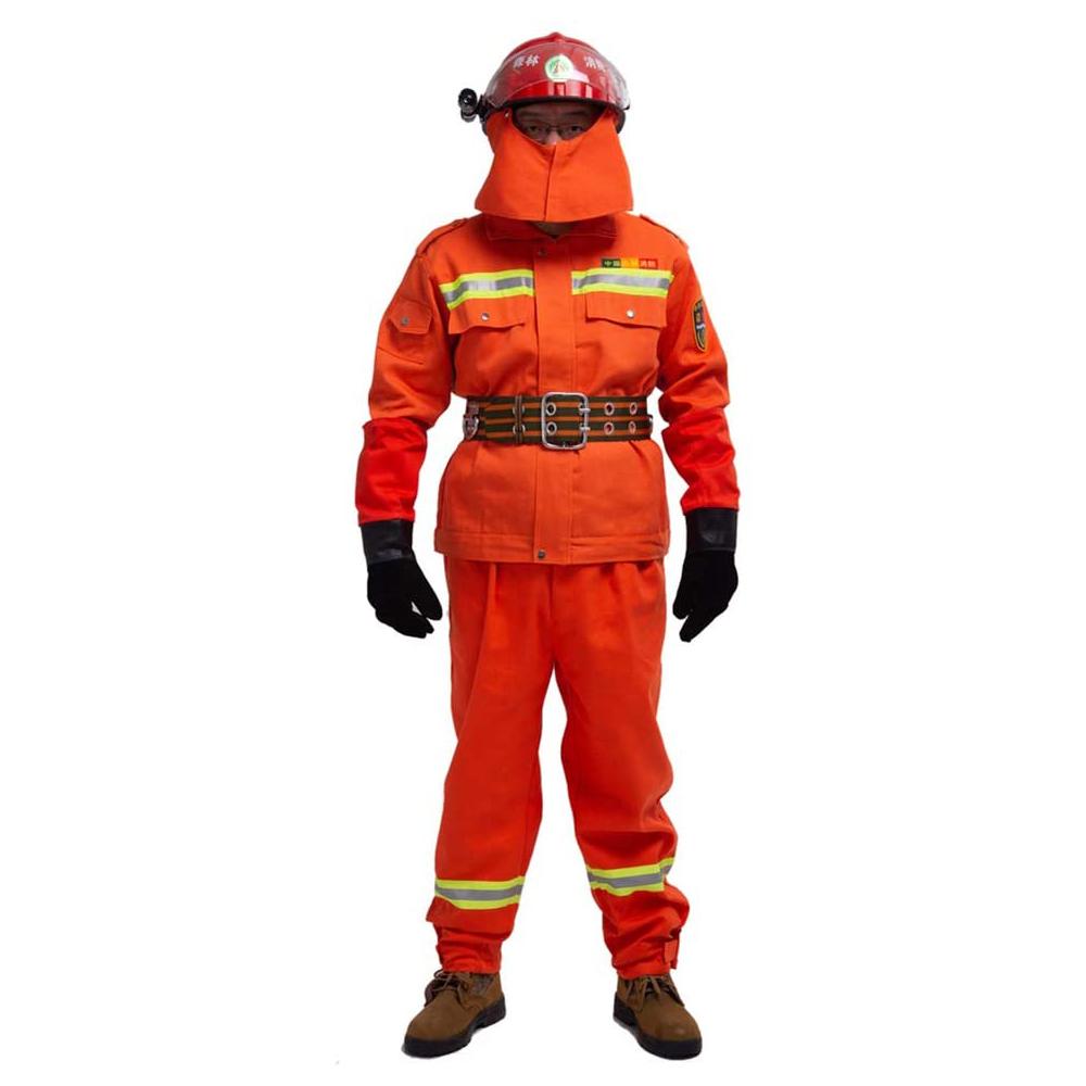 Feuerwehr Ausrüstung Insgesamt Schutzhülle Feuerwehr Colth Firefigher Anzug Weste Helm Stiefel