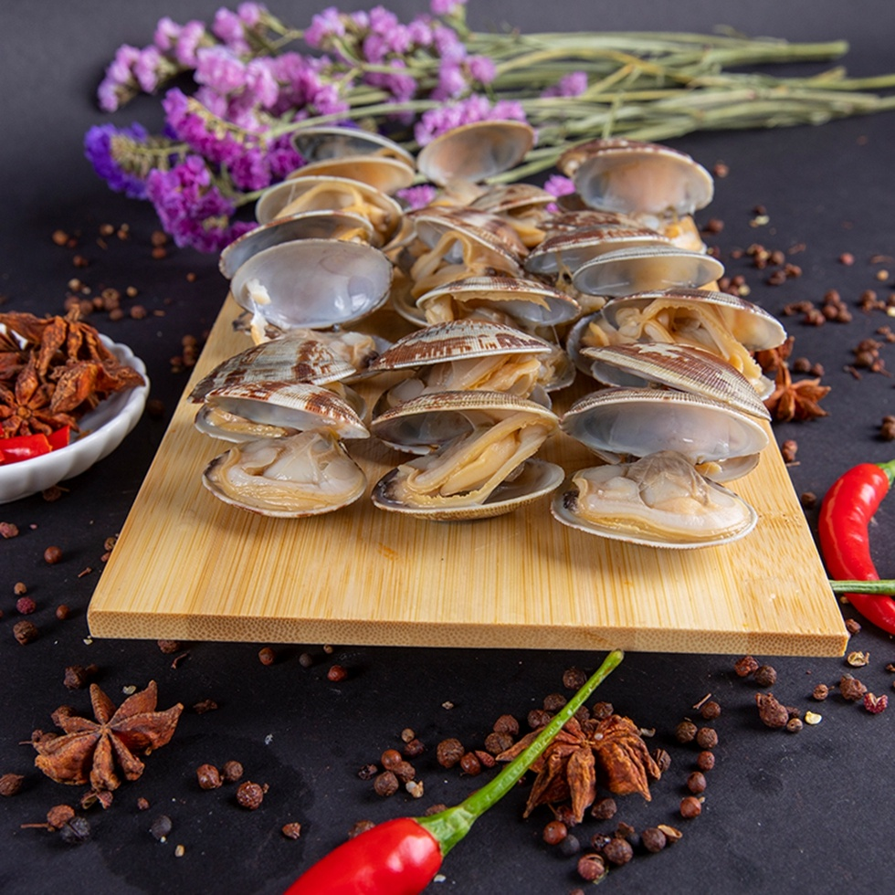 Acuum-Packed Fully Cooked Short Necked Baby Clam In Shell For Sale
