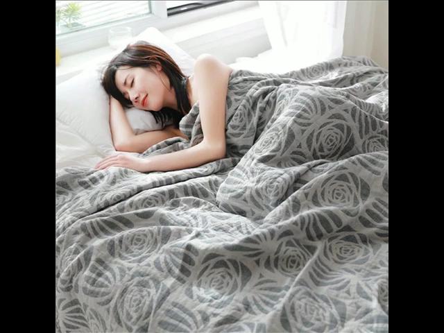 40 Stijlen Vier Laag Mousseline Katoen Volwassen Dekens Thuis Textiel Bed Cover Deken Zacht Gewassen Katoen Sprei Sofa Gooi Deken