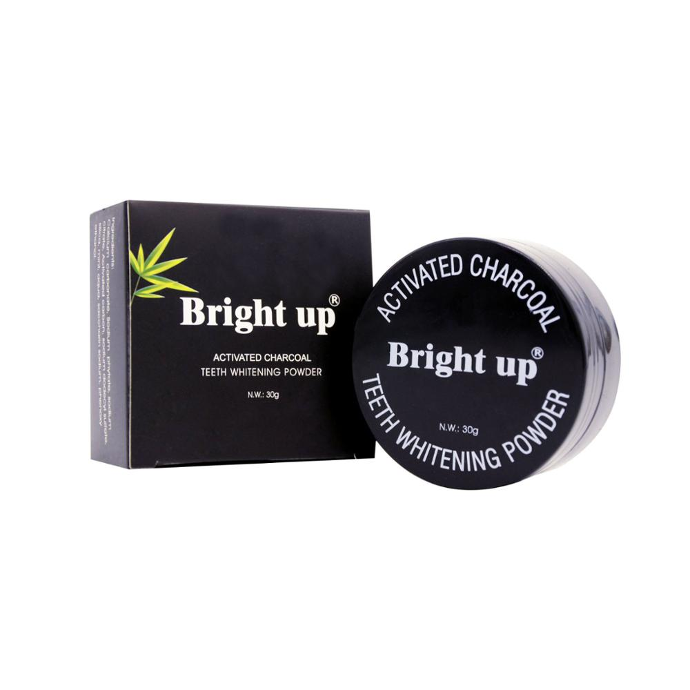hot sale in amazon private label natural coconut carbon black teeth whitening activated charcoal powder