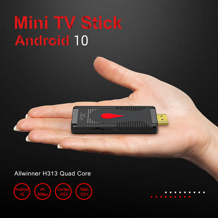 X96 S400 Android 10.0 Smart TV Box 2.4G RTL8189 WiFi 4K Allwinner H313 Quad Core Set Top Box Media Player LPDDR 32bit 2020 New