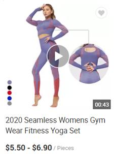 Seamless Gym Wear Yoga Sets Fitness Leggings And Bra Set