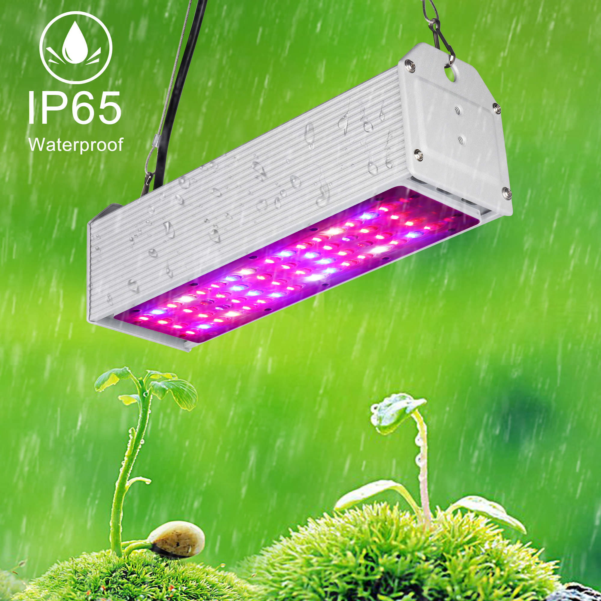 Sinjia Waterproof Full Spectrum 150w Led Grow Lights Greenhouse Bar Growing Led Lights
