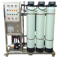 Reverse osmosis water treatment machine water treatment plant