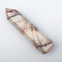 Wholesale obelisk healing crystal points natural china rhodochrosite