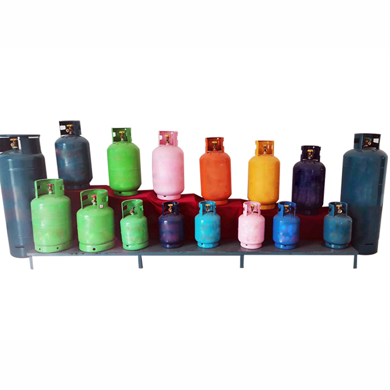 High Quality 2-50KG Empty LPG Gas Cylinder Price Filling With Valve prices