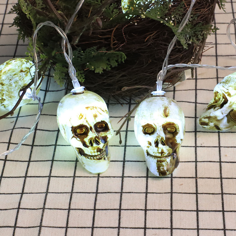 Hot style Halloween led skeleton lights new spot cross-border decoration supplies for the ghost festival wholesale