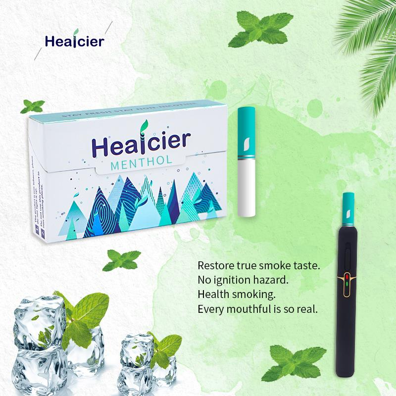 Factory Wholesale Healcier Strong Menthol no Burn Botanical Sticks for Heating Device Six Flavors