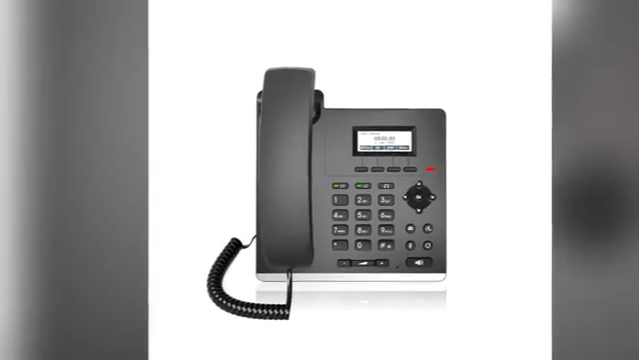 2020 newest factory supply VoIP Fanvil X210 High-end Enterprise SIP IP Phone