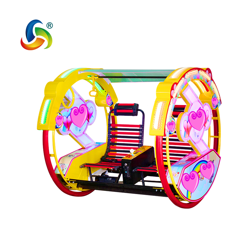 Popular Happy Swing Car Amusement Park Plaza Happy Car for Happiness with Speed Controllable in Park Arcade Plaza