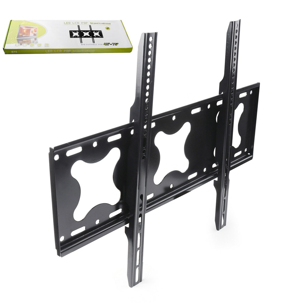 SPCC Steel Large Flat <strong>TV</strong> Wall Mount Stand 42&quot;-75&quot; Size Inch Tilt <strong>Swivel</strong> Dual Cantilever Arm <strong>TV</strong> <strong>Bracket</strong>