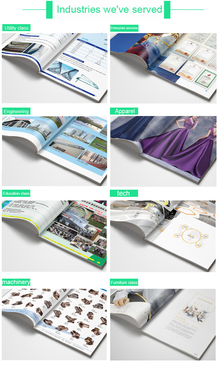 Customized Digital Printing hardcover High-End Drawing Book Printing