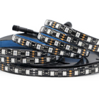 High quality ce rohs SM16703 smd 5050 led strip waterproof 60 leds/m 20 IC Per Meter rgb adjustable led strip lighting on sale