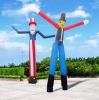 TJ Custom High Quality Giant Messy Hair Single Leg Flailing Air Tube Dancer Inflatable Waving Man/ Airdancer