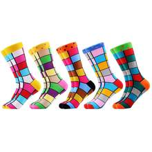 SANZETTI бренд 2020 Новые счастливые мужские носки, яркие красочные новые модели платья, высококачественные носки, забавные Свадебные носки, пода...(China)