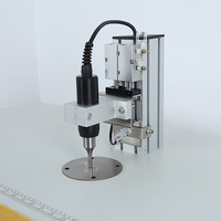 Hot Sales Semiautomatic Ultrasonic Mask Spot Welder Machine Welding Machine For Non Woven Bag