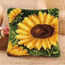Комплект коврика для подушки Prajna, подушка для рукоделия, цветы, вязаная вышивка крестиком, аксессуары для вязания крючком(Китай)