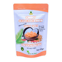 Vietnam Gluten Free Fruit Snack Salty and Spicy Fruit Vegetable Snacks Coconut Chips