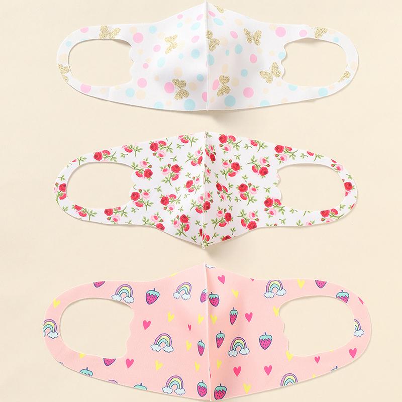 Reusable Facemask headband Waterproof Fabric-Mask Anti Pollution Dust Kids Wind Proof facial Manufacturer