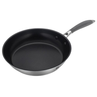 induction master stainless steel cooking kitchen non-stick frying pan