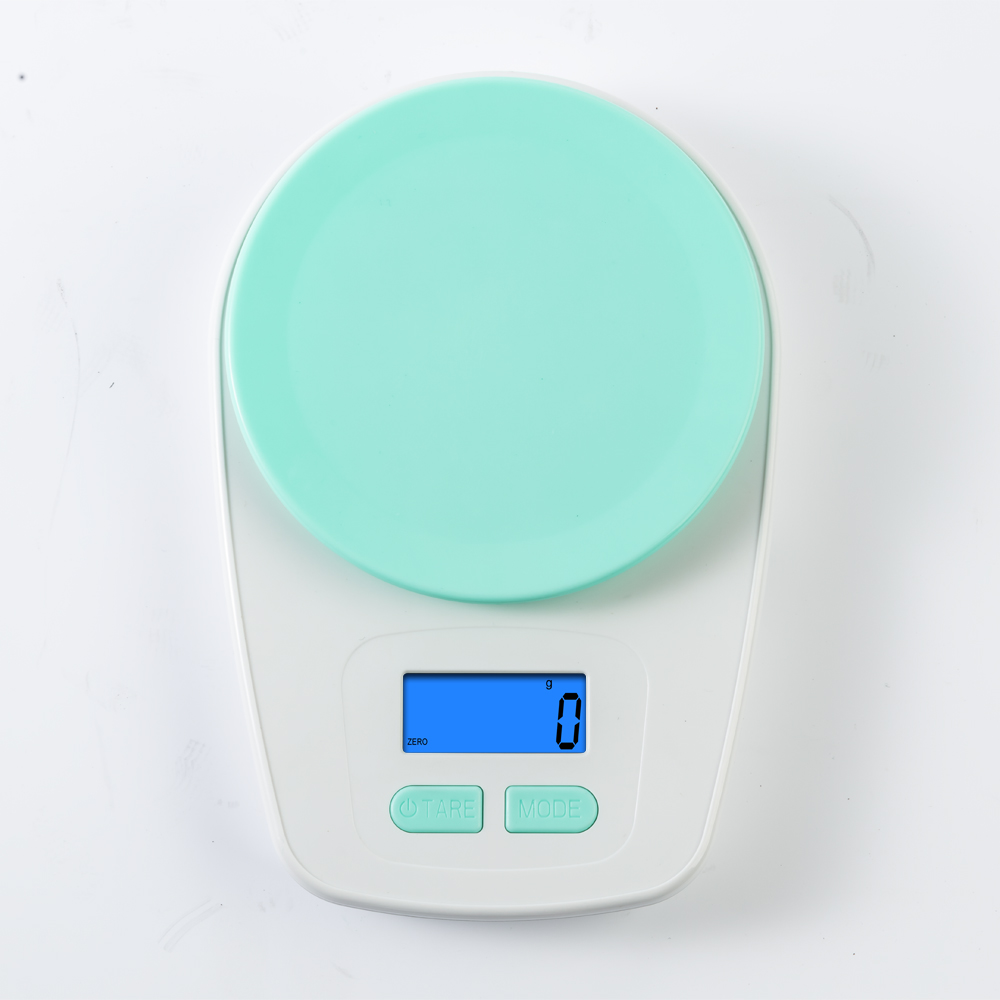 Good Quantity for Stainless Steel Fashion Digital Electronic Weight food Kitchen Scale for cooking 5kg Back-lit LCD Display