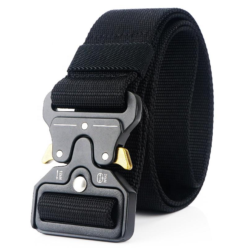 New Tactical Waist Belt Quick Release Safety Belt Tactical Police Duty Belt Tactical