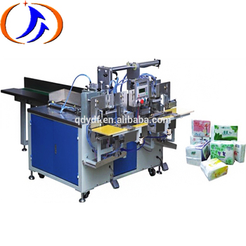 Best Selling Facial Tissue Paper Napkin Plastic Bag Wrapping Packing Machine