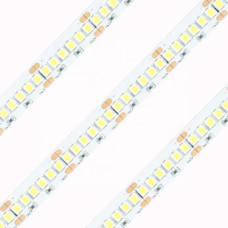 3 years warranty professional indoor decoration  led strip light 12v 2835 240leds/m 5m lighting