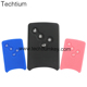 Silicone Material 4 Button Remote Car Key Cover for Renault Car Key