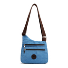 Casual cross body canvas bag for man and women
