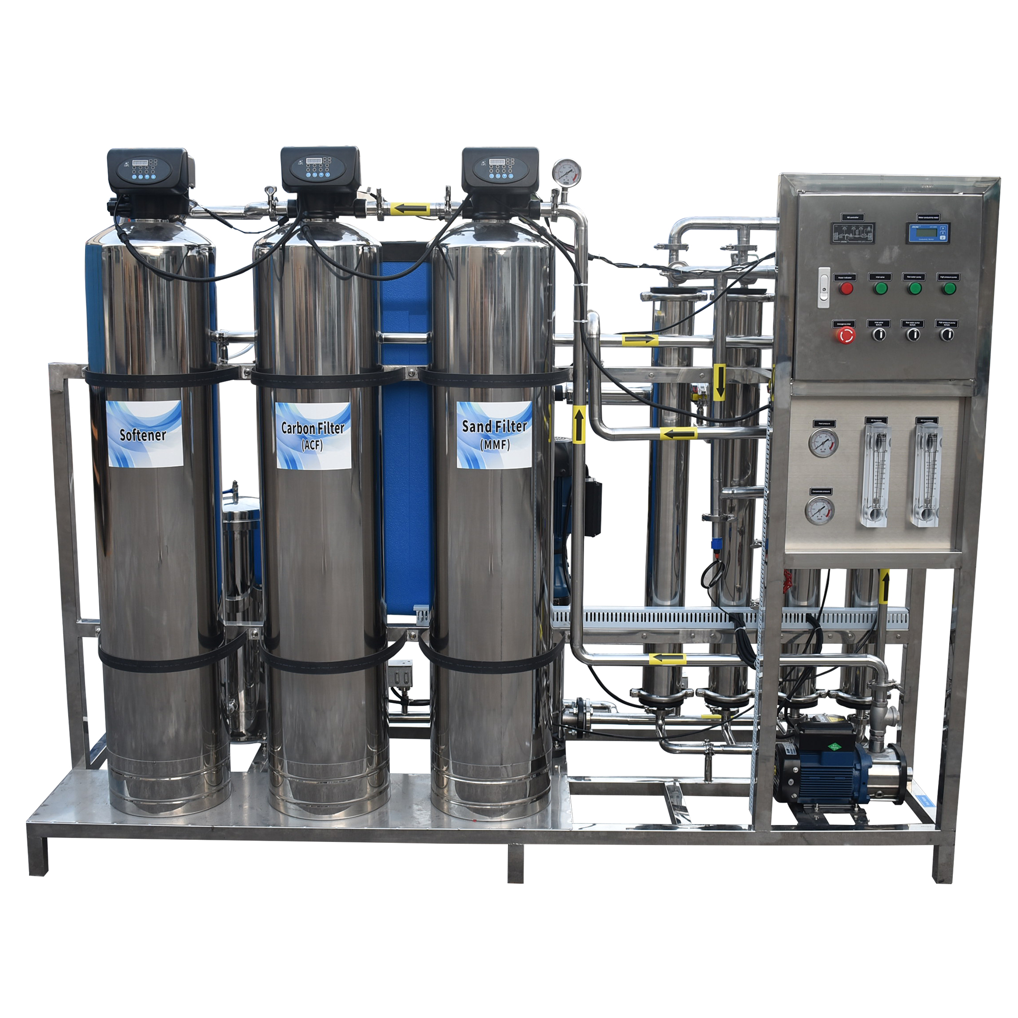 product-Ocpuritech-1000lphstainless steel osmosis reverse ro system-img
