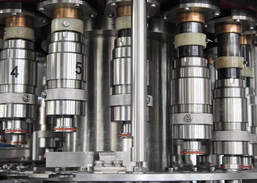 Stabilitas Tinggi Semi Auto 5 Galon Botol Mengisi Mesin Air Mineral