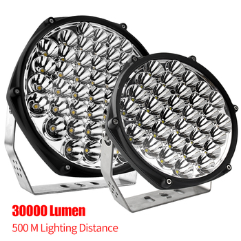High Power IP68 offroad 160w 260w Round super Bright 4x4 Truck Offroad Led Driving Light,7 inch 9 inch Laser Led Work Light
