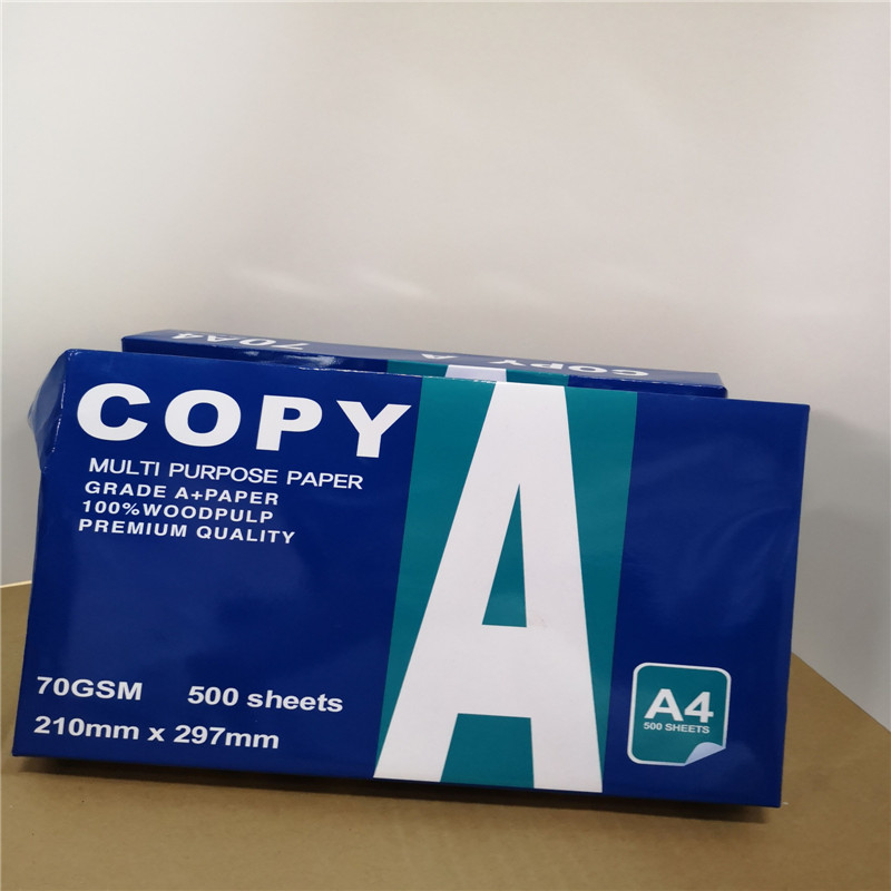 80G Best Quality import copy paper a4 one ream 500sheets