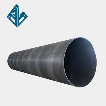 S235JR Low carbon spiral welded sch40 erw steel tube and pipe