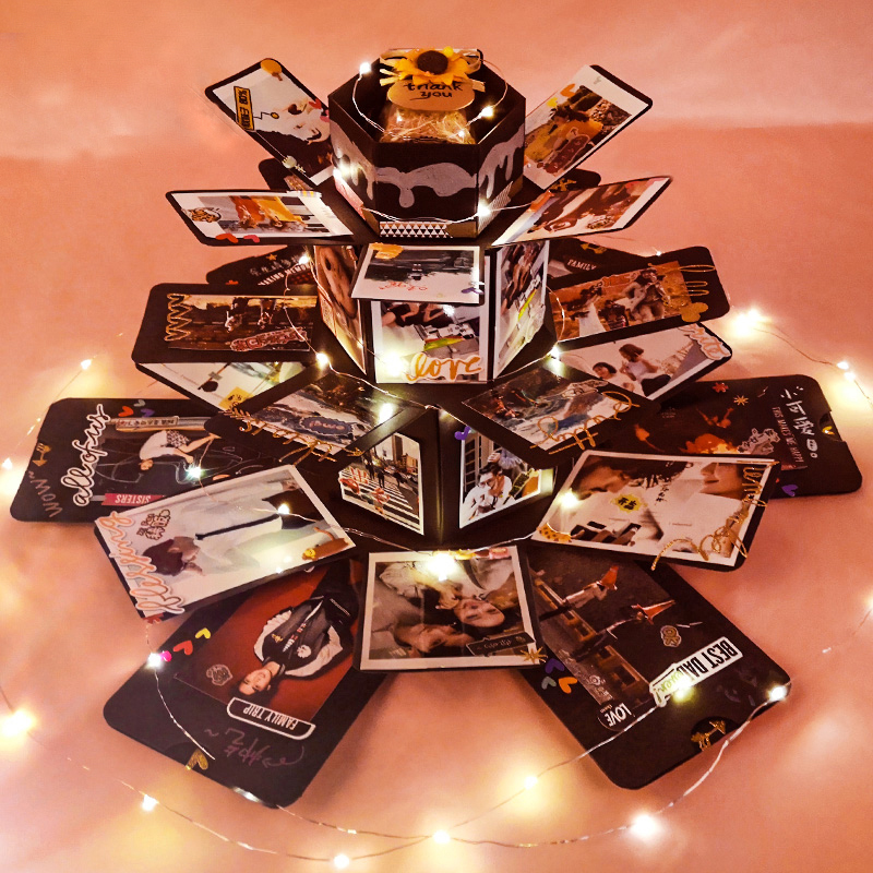 Image result for Customizable Hexagon Explosion Love Note