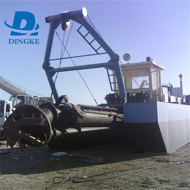 River sand Bucket wheel sand dredger Factory supply small bucket type chain gold dredger/diamond mining dredge/dredging boat