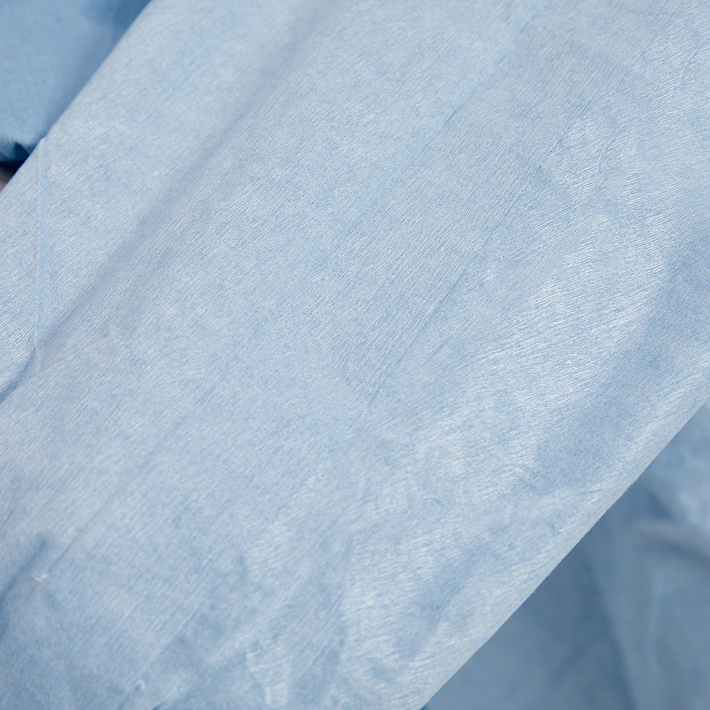 Spunlace non-woven fabric Sterile Disposable Surgical Gown SMMS PE PPE Gown - KingCare | KingCare.net