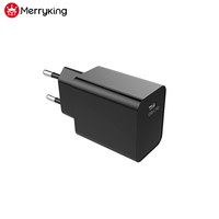 EU Plug Type C USB Charger 18W 30W 45W 60W PD Charger With CE Cert
