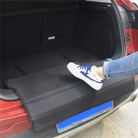 Durable Foldable Auto Suv Car Rear Boot Trunk Bumper Guard Protector Mat with Two Hooks