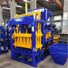 Building Material Shops [ Bricks Making ] Paver Block Making Machine QT5-15 Auto Ciment Homemade Bricks Making Full Set Machinery Industrial Paver Block Manufacturing Machine