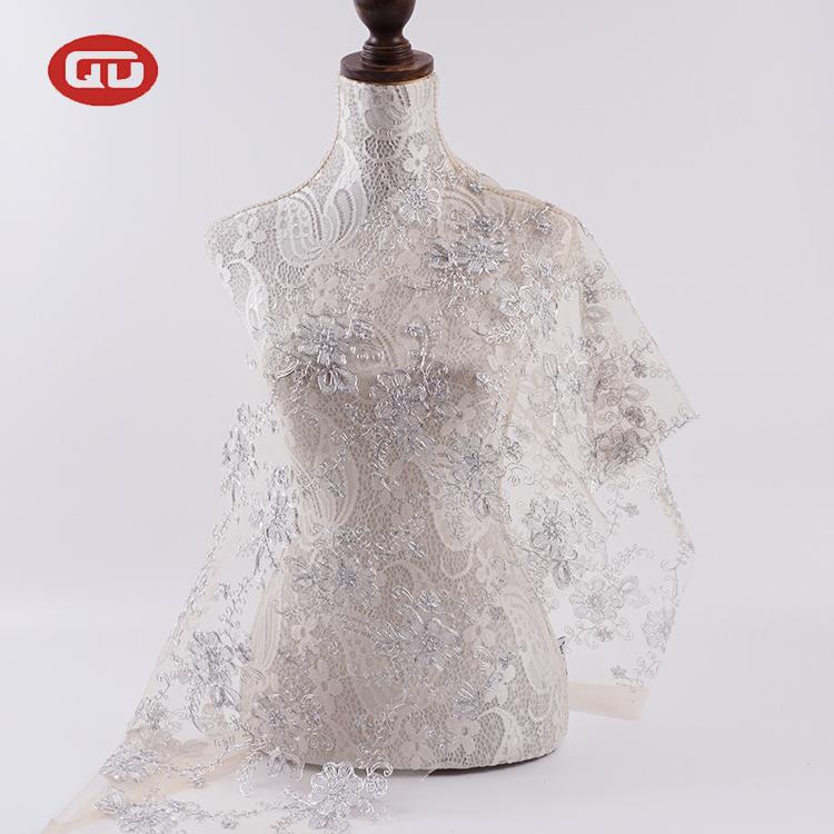 מהיר משלוח מקרית פרחוני שמלת מפואר רשת לבן רקום תחרה