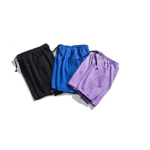 2020 Fashion shorts men custom embossed logo streetwear summer shorts men