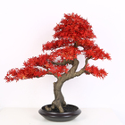 Factory direct maple artificial large bonsai leaves tree plant