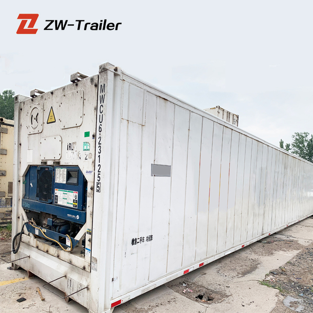China reefer used 20ft refrigerator shipping container stock for sale