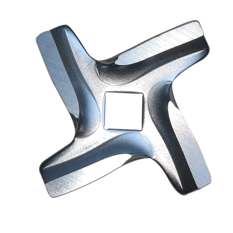 Knife for Meat Grinder Blade with Square Hole for Moulinex HV6 Type A133 Kitchen Appliance Spare Parts