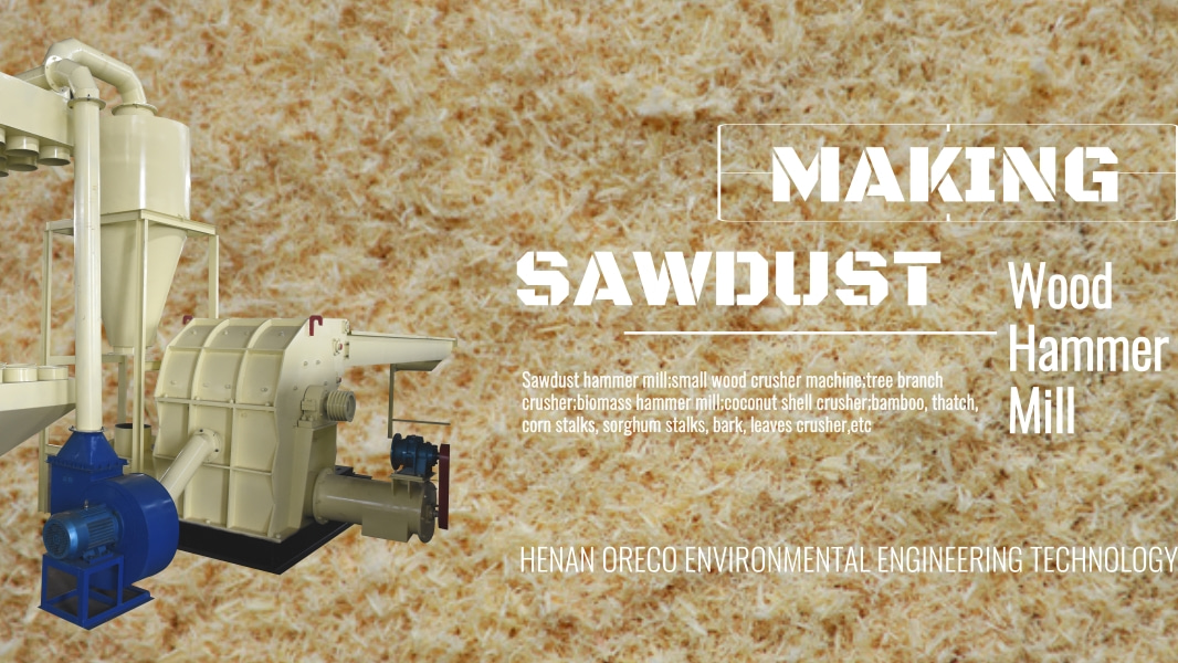 Crusher for Branches Malaysia Wood Waste Sawdust Machine