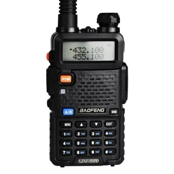 baofeng uv 5r 136-174/400-520MHz Dual Band 2way radio Walkie Talkie