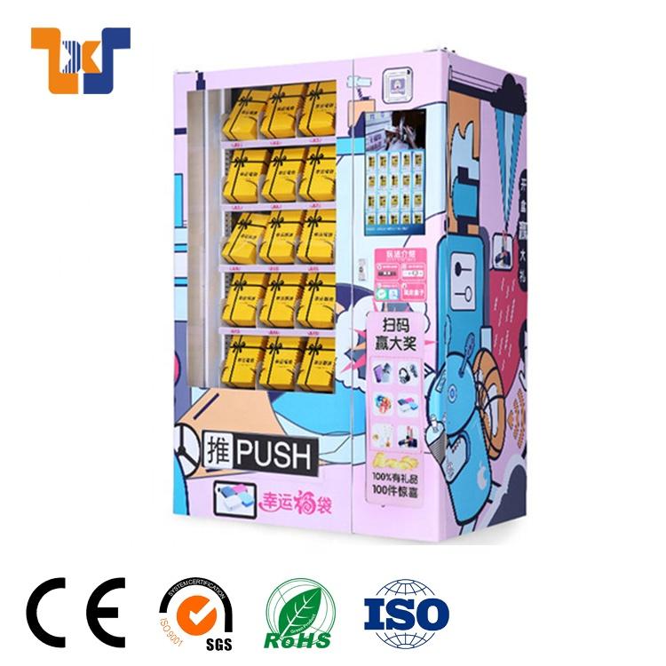Custom design Pink Lashes Hair Bundles Wigs Vending Machine